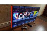 SAMSUNG 49-inch 49MU7000 4K HDR SUHD QUANTUM DOT DISPLAY Smart LED TV,built in Wifi,2017 MODEL