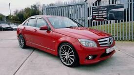 "2009 MERCEDES C220 AMG SPORT 6 SPEED AUTO...FINANCE THIS CAR FROM £43 PER WEEK...NEW 19"" ALLOYS..."