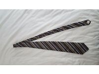 Paul Smith Stripe Silk Cotton Tie