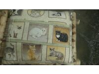 Cat cushion for all cat lovers pillow