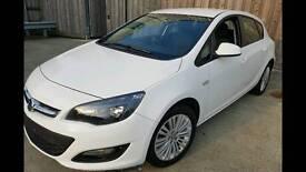 2013 Vauxhall Astra Energy 1.4 16V 100 5dr Manual Petrol White (Cat D Repair)