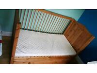 Children's cot bed