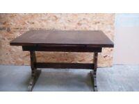 Dining table, oak