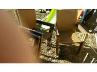 6 garden chairs need gone