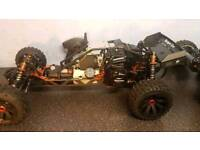 Hpi baja new with 32cc engine g320 rc zenoah engine