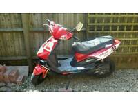 TGB 303R 50 Hawk moped