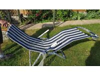 Garden lounger/ poolside lounger