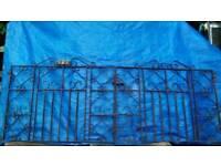 Wrought Iron Gates *Vintage*Decorative*