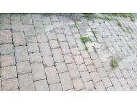 Free block paving bricks + sharp sands