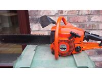 Sachs dolmar 112 professional petrol chainsaw 51cc in excellent condition