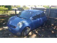 Nissan Micra 1300CC 2004 54 Reg