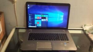 d785bb5870f Used 17 HP Touchsmart Envy Laptop with Intel Core i5 2.4Ghz