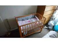 Small cot bed