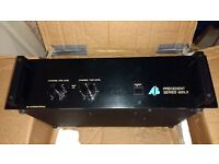 AB International Precedent Series 600LX 2-Channel Power Amplifier