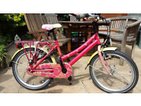 Beautiful stylish Loekie Dutch Girls bike bicycle cycle Looks like nothing available here RRP 279 Eu