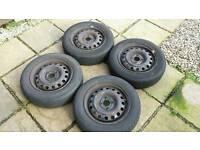 Nissan micra 14 inch steel wheels K12 model