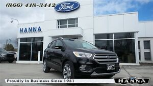 2017 Ford Escape *NEW*TITANIUM *SPORT*300A* 4WD 2.0L I4 ECOBOOST