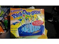Pick ouf sticks, electronic game