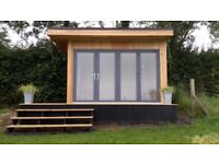 GARDEN ROOM / HOME OFFICE / MAN CAVE / GLAMPING PODS