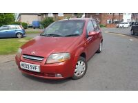 Daewoo Kalos 1.4 16v SX 5dr GENUINE MILEAGE,LONG MOT