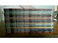 The Walking Dead graphic novels 1 to 17