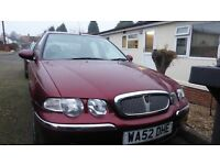 Rover 45 Spirit 2003. Very good condition, Full service history, Current MOT.
