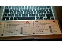 Joe Bonamassa tickets x2 Great seats Albert Hall