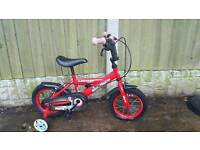 Dunlop kids bike with stabilisers