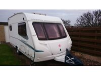 Abbey Cardinal 312 2 berth caravan excellent condition