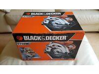 New Black and Decker Circular Saw