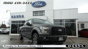 2017 Ford F-150 *NEW*0% 72 MONTHS*SUPERCREW XLT*SPORT*4X4 5.0L V