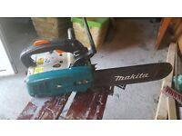 Makita top handle chainsaw