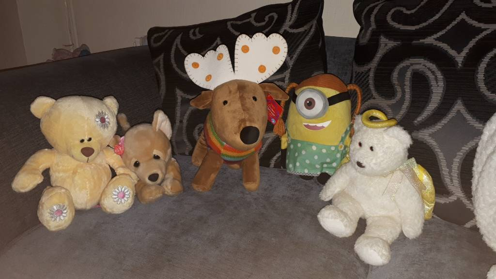 5 Cuddley Toys