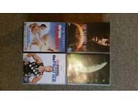 Adventure movies DVDs