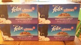 Felix Kitten 48x100g Mixed Selection in Jelly