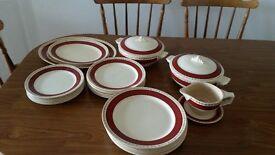 Vintage Dinner Service