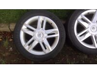 Genuine Renault Conquest R17'' Alloy Wheels