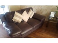 Dfs sofas 3 seater and 2 seater