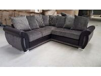BRAND NEW STYLISH FABRIC CORNER SOFA