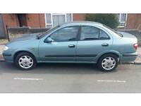 NISSAN ALMERA 1.8 AUTOMATIC 1 OWNER FROMNEW WITH 1 YEARS MOT