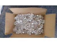 job lot of diamond bubble decorations for weddings