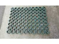 60 used ground guard tiles