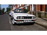 Beautiful BMW E30 325i Auto Convertible (1990) for sale