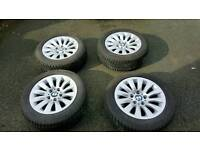 BMW alloy wheels and tyres excellent condition *****