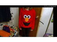 Elmo jumpers x 7 new