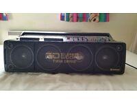 Hitachi Radio/Cassette player 1980s