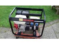 Honda PRAMAC Powered Petrol Generator E5000 3.80kw 2011 NEW listing July18
