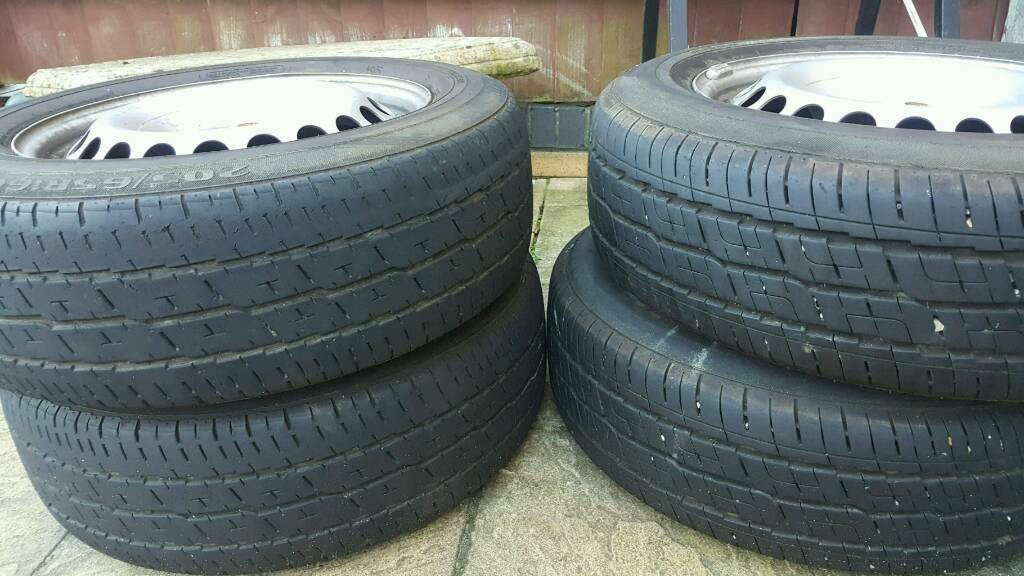 Tyres x4 with rims
