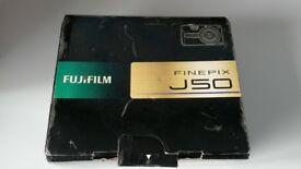 FUJI FILM FINEPIX J50 DIGITAL CAMERA WITH SD CARD
