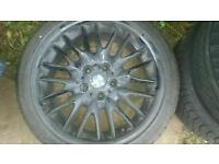 "For sale x1 bmw mv1 18"" alloy wheel"